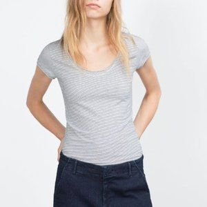 Zara | Striped Tee
